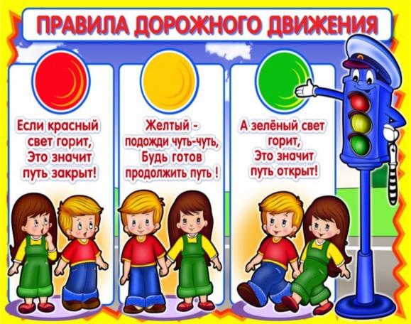Правила дорожного движения для детей  Активная мама